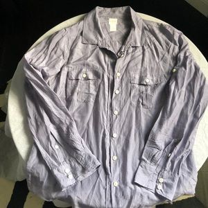 "Never worn ""The Perfect Shirt"" by J Crew in large"